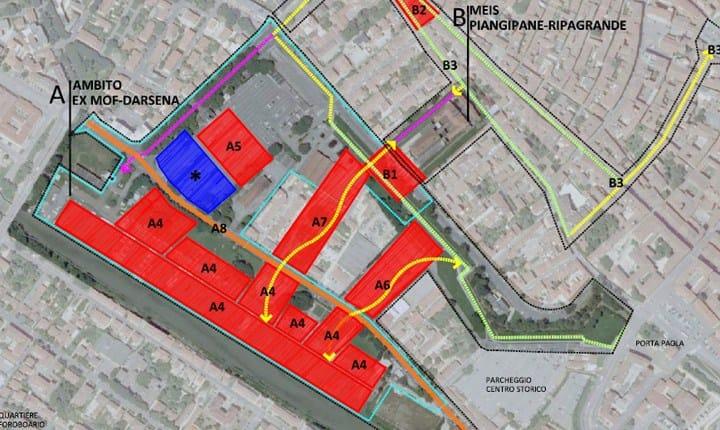 Progetto di rigenerazione area Darsena-ex Mof-Meis - Ferrara