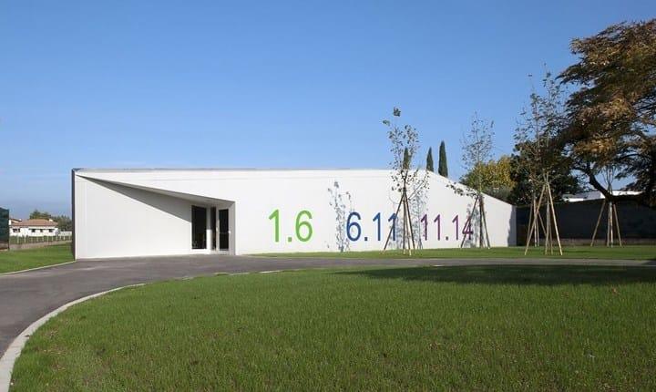 Centro Educativo '1.14 The Kite' di Fontaniva, Padova. © photo: C+S Architects