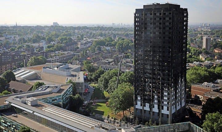 Incendio Grenfell Tower, CNI: 'materiali e impianti inadeguati'
