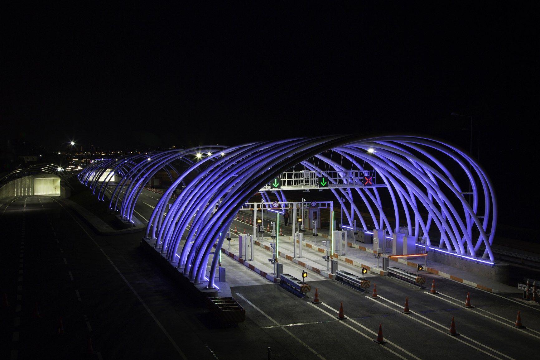 Iguzzini illumina eurasia tunnel a istanbul