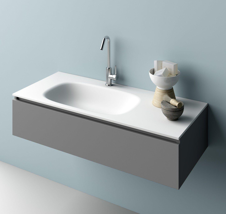 Piano Lavabo In Corian planit presenta il nuovo piano lavabo stretch
