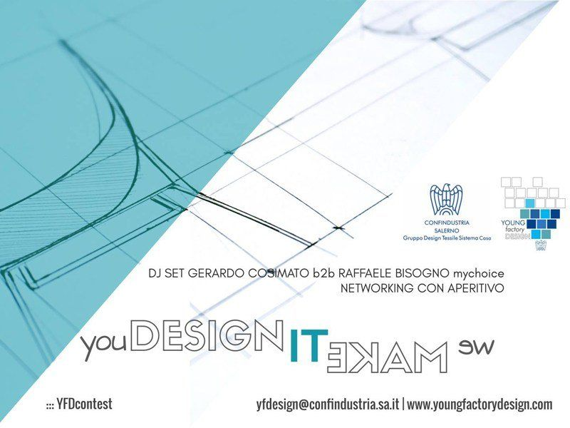 Al via la II edizione del Young Factory Design contest