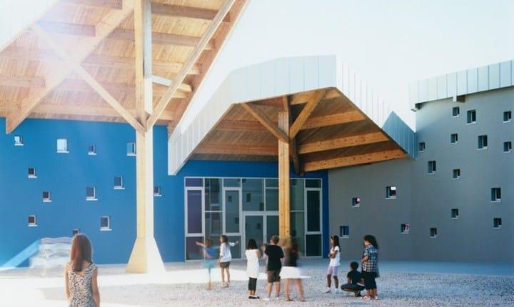 New school complex of Centrale-Grumolo Pedemonte, Foto: Ernesto Laviola