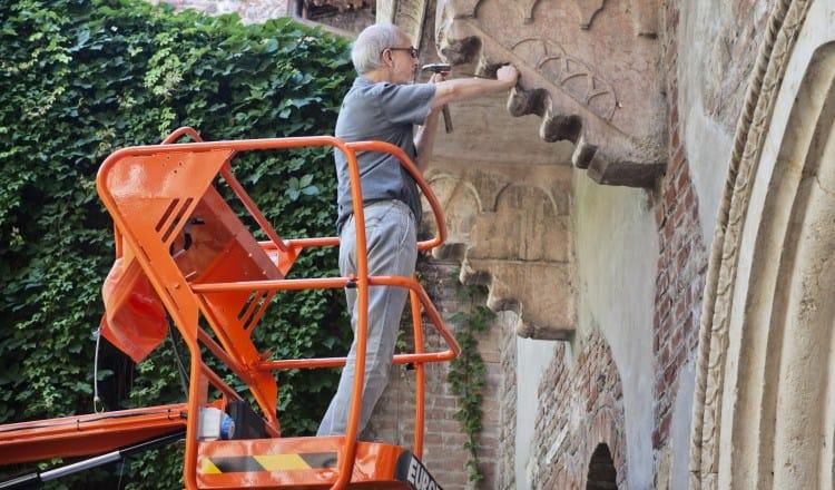 TECNORED effettuata con successo la verifica del Balcone di Giulietta
