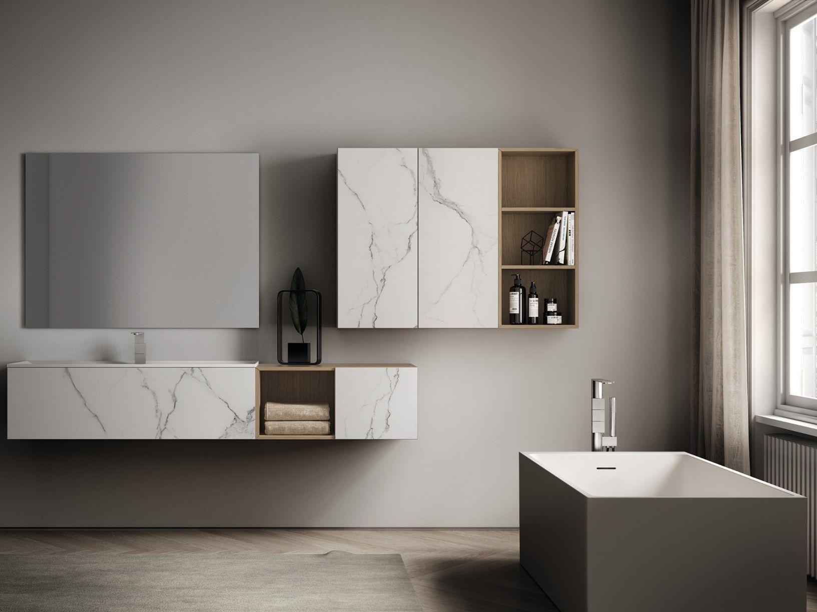 Bagno minimal d 39 ispirazione industriale for Mobile bagno minimal