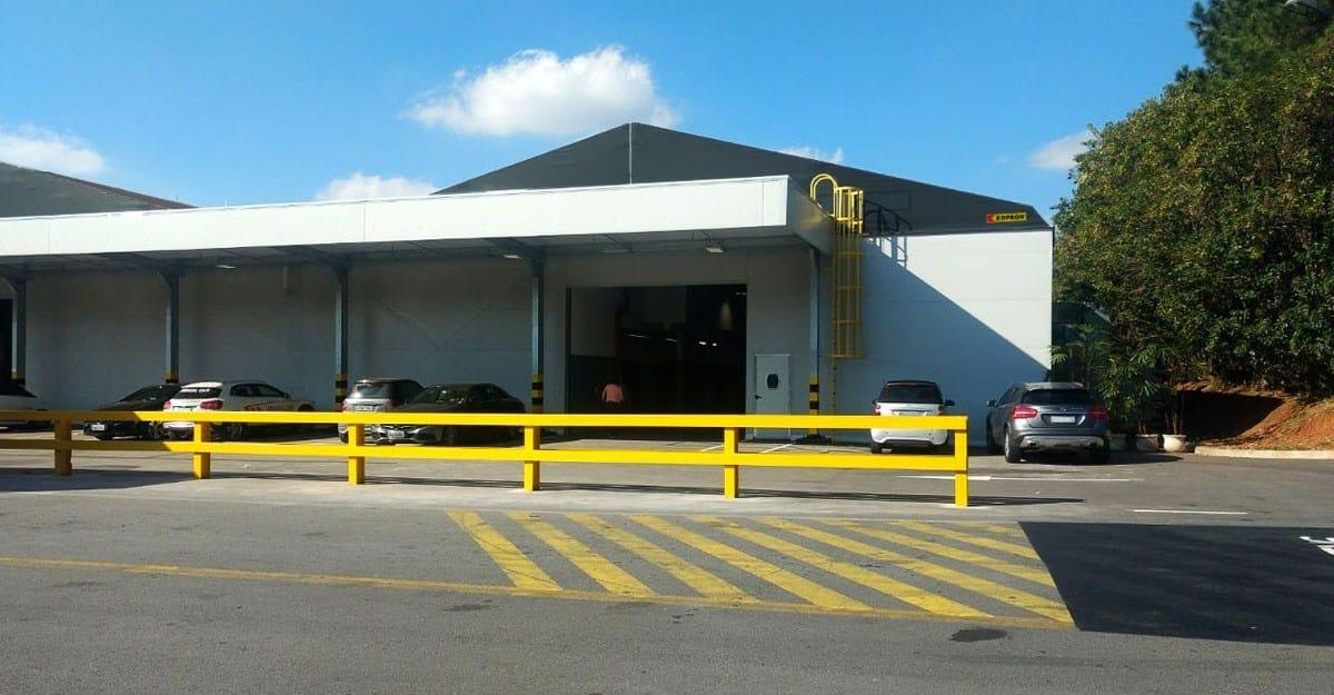 Kopron: il nuovo volto del capannone Mercedes Benz in San Paolo