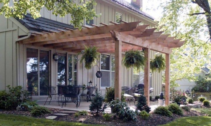 Come realizzare verande pergolati e tettoie per vivere for Costo dei materiali per costruire una casa