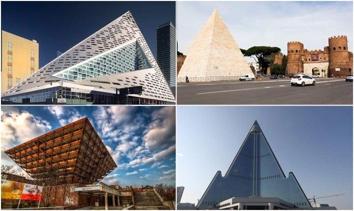 Dagli Egizi ad oggi, gli edifici a piramide nel mondo