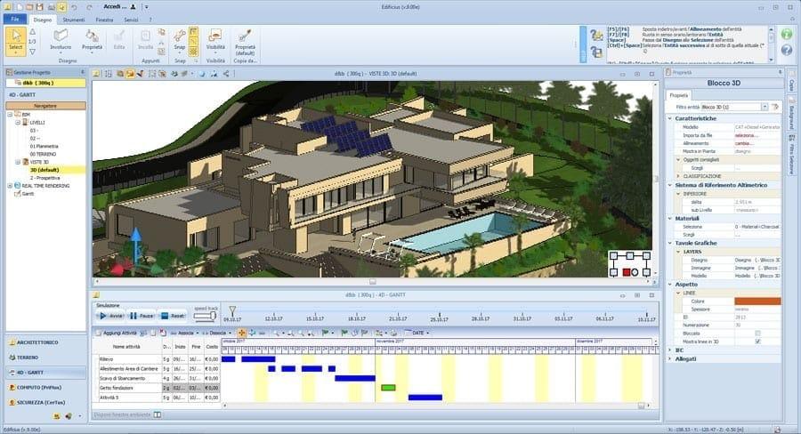 Il BIM 4D migliora l'efficienza e la qualità dei cantieri.