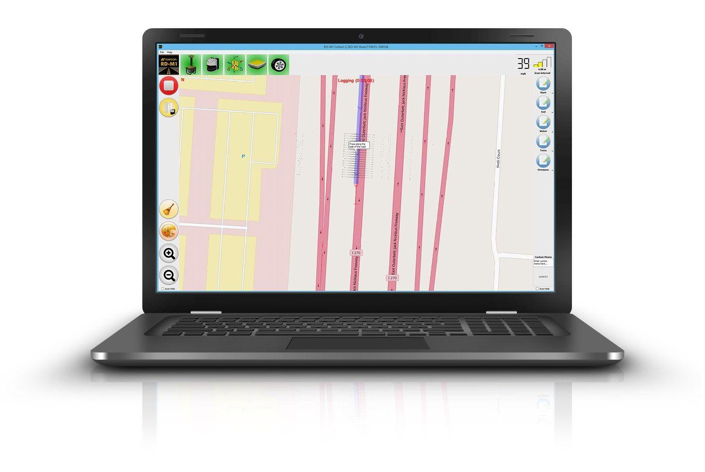 Topcon, aggiornamento del  software di raccolta dati SmoothRide
