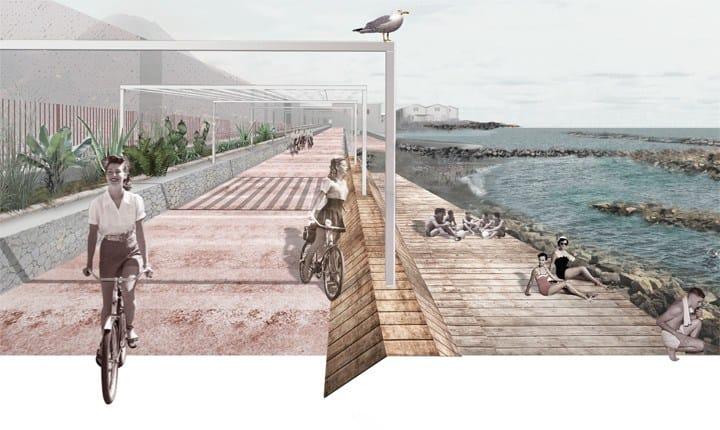 Progetto per la costa del quartiere San Giovanni a Teduccio a Napoli