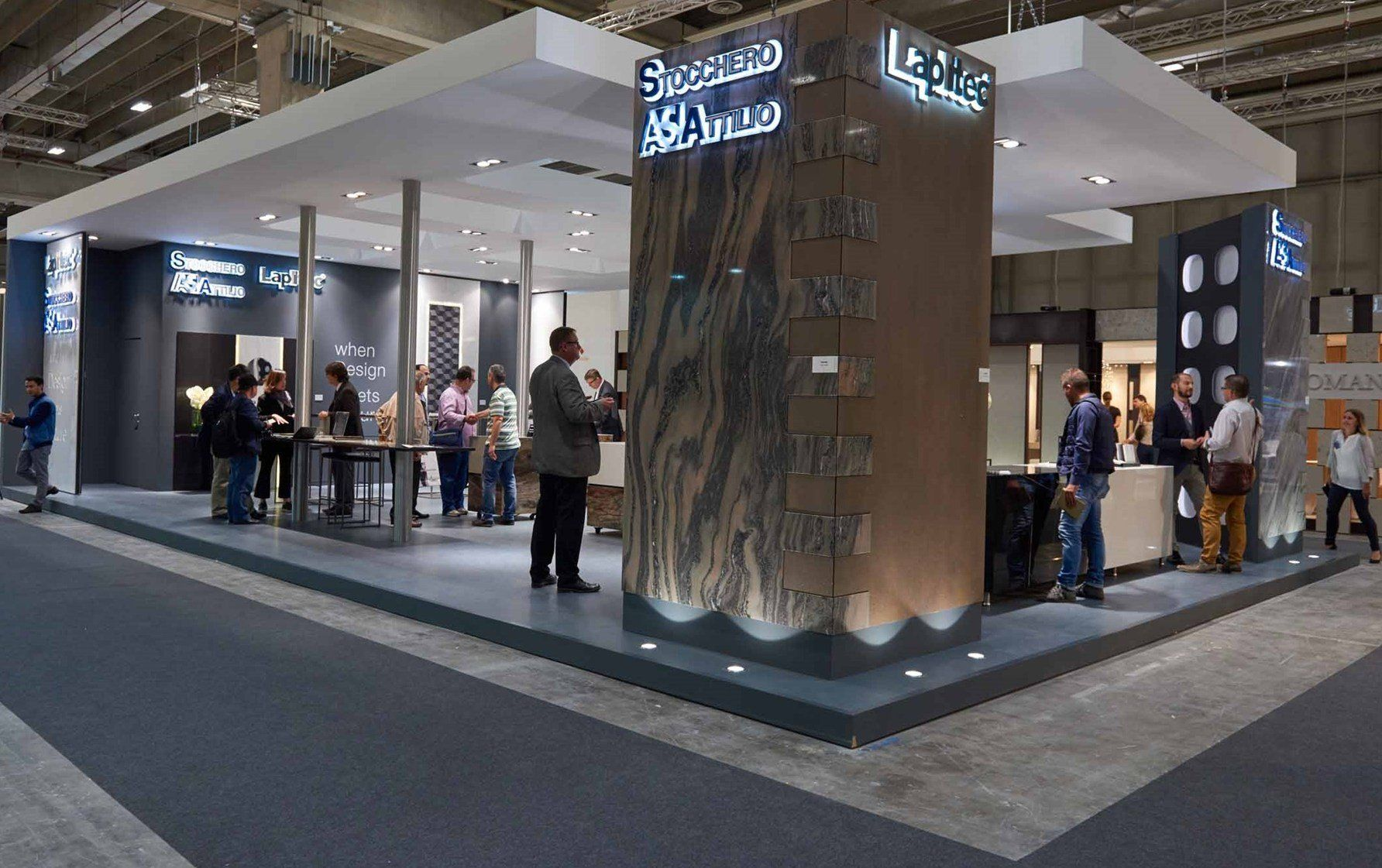 Marmomac e Sicam: protagonista l'innovazione dei nuovi piani Lapitec®