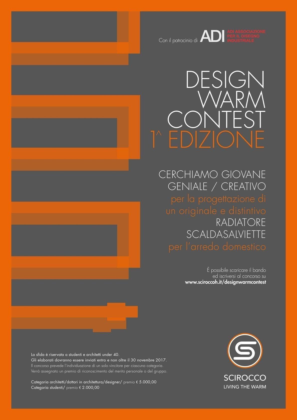 Verso la conclusione la I edizione del Design Warm Contest