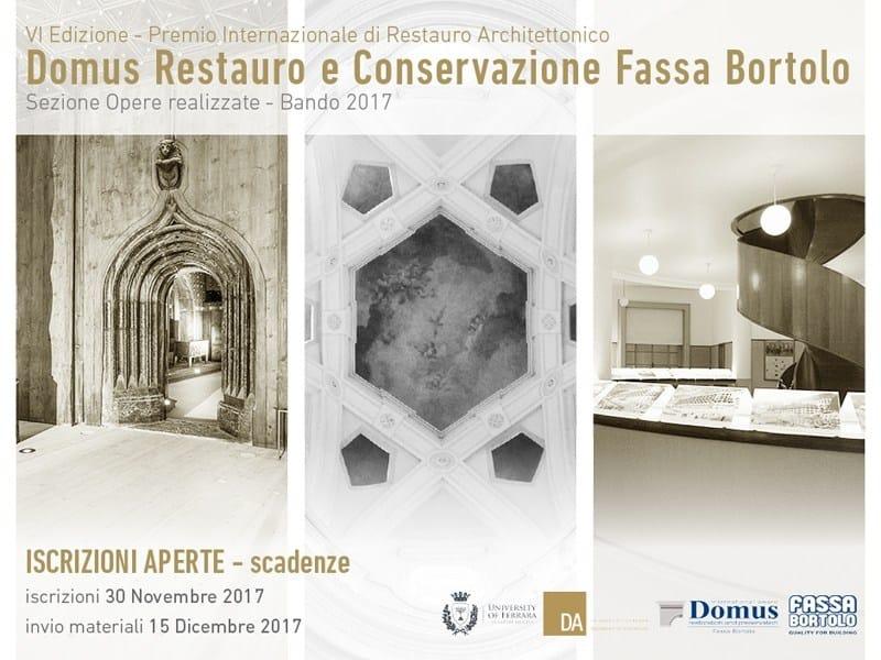 VI Premio Domus Restauro e Conservazione - Opere realizzate
