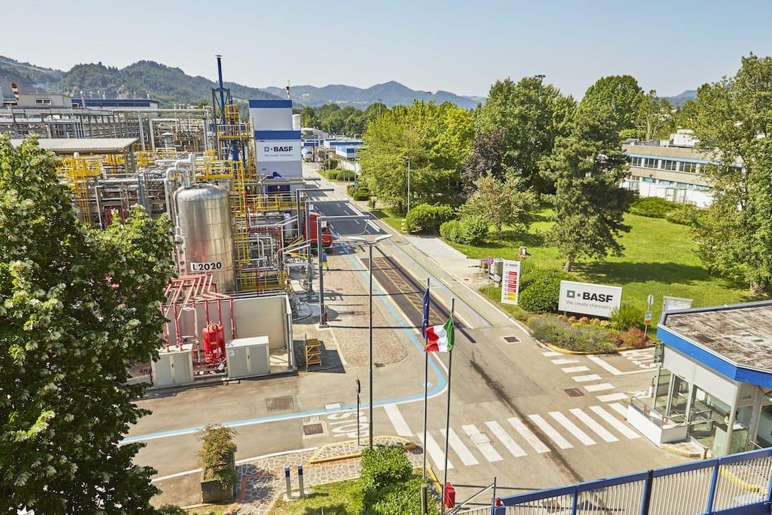 Gentiloni visita il sito BASF di Pontecchio Marconi