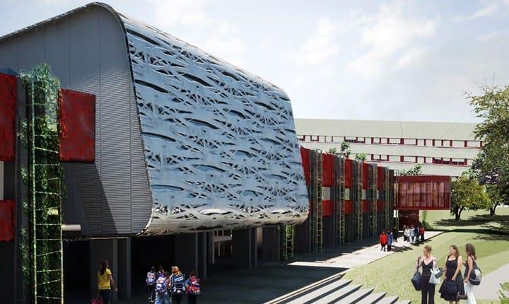 Scuola Mazzacurati (Roma). Fonte: TStudio