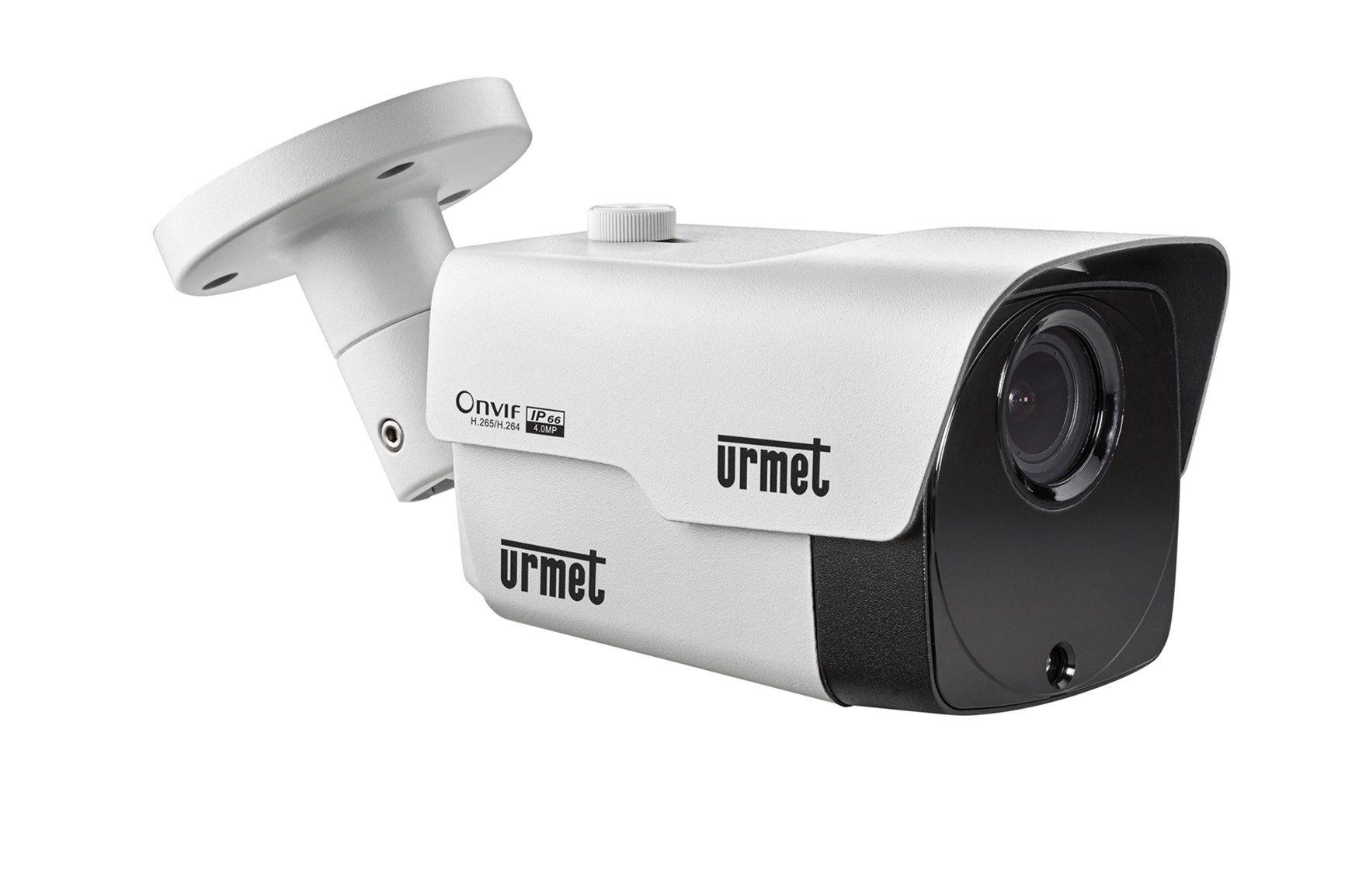 Videosorveglianza integrata con le telecamere IP4M di Urmet