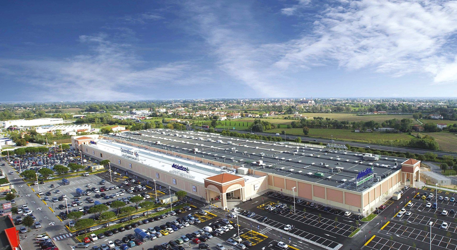 Lecablocco Tagliafuoco per lo shopping center Adriatico2