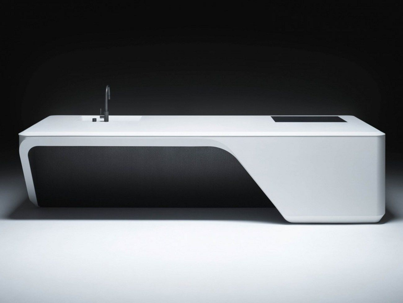 Cove kitchen a colonia for Divano zaha hadid