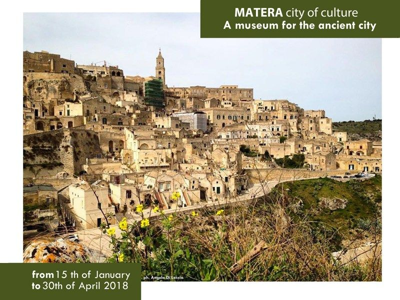 Matera, city of culture. A museum for the ancient city