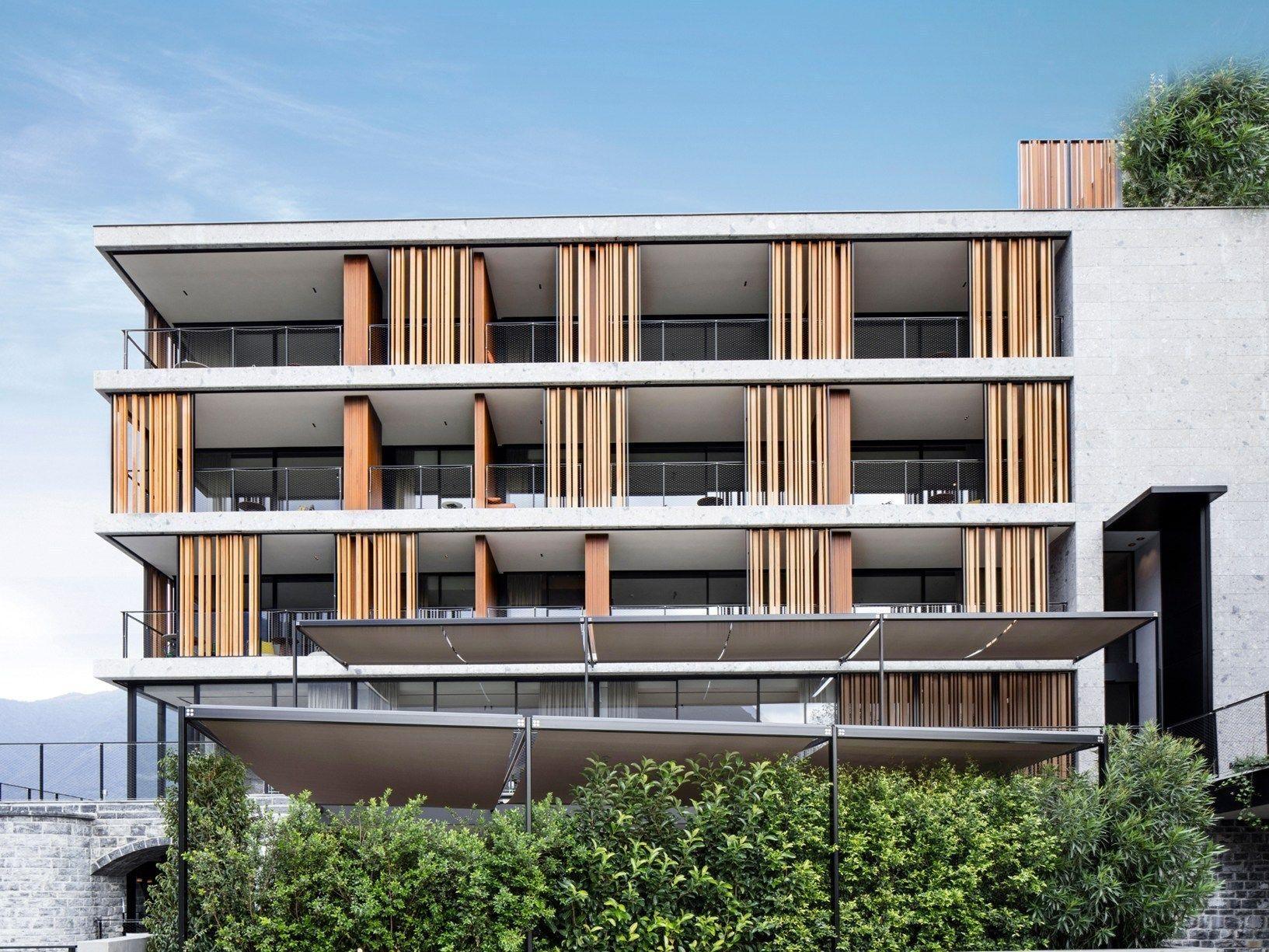Stahlbau Picher per l'Hotel Il Sereno sul Lago di Como