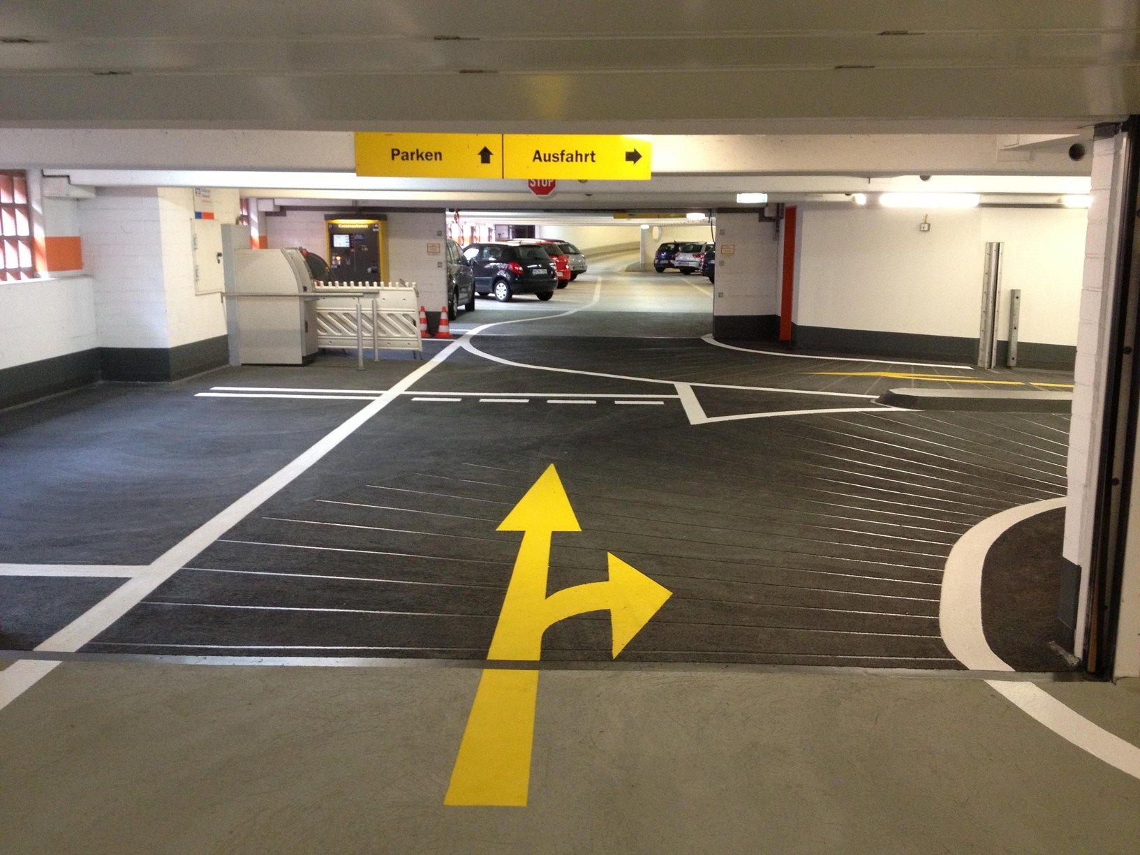 TRIFLEX per il risanamento del parcheggio Speicherstadt di Amburgo