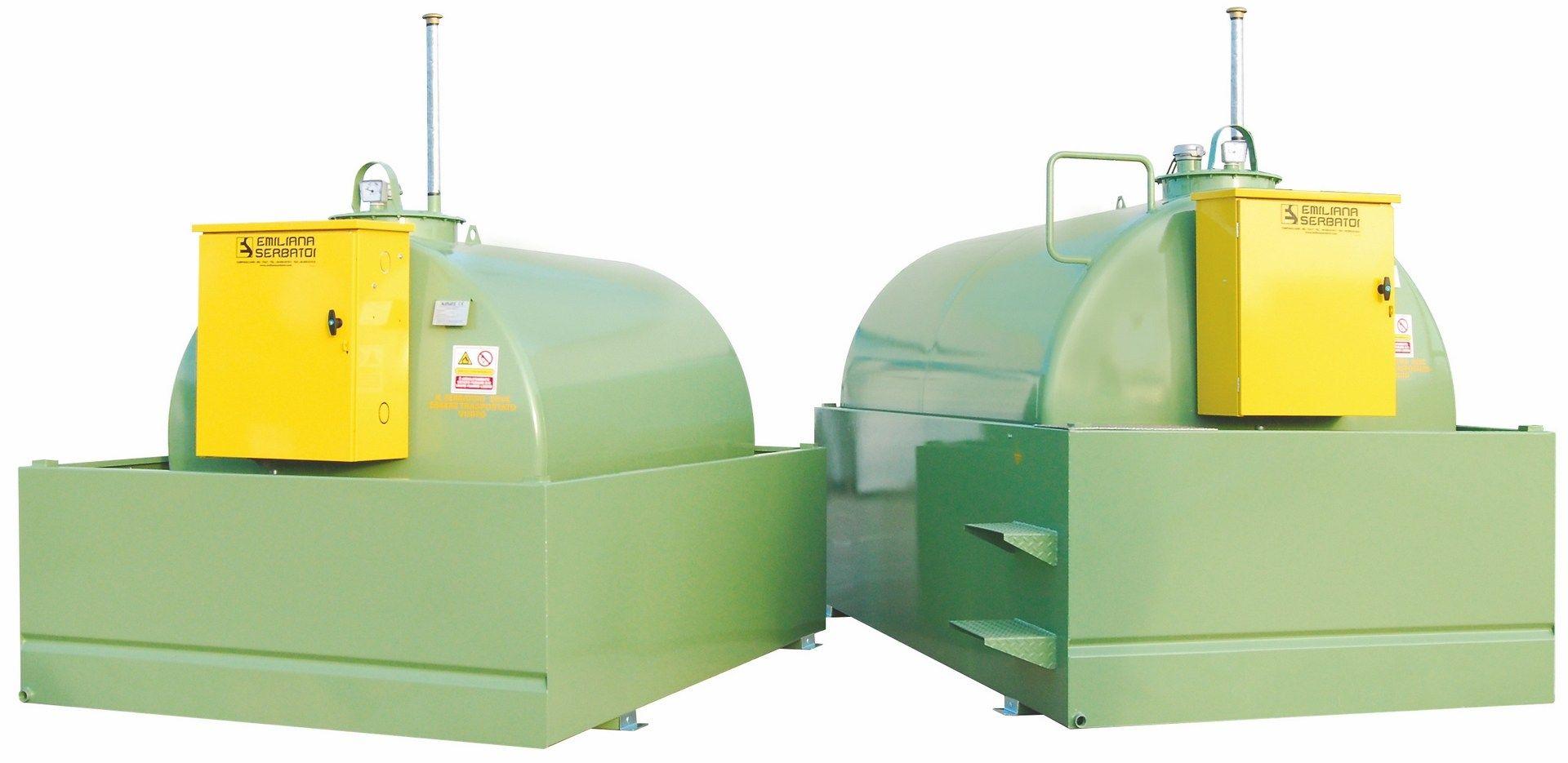 Emiliana Serbatoi presenta i Tank Fuel con bacino di contenimento al 110%