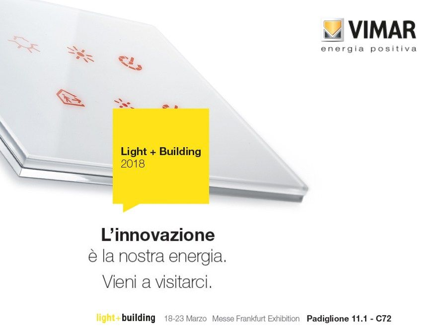 Vimar @ Light+Building 2018