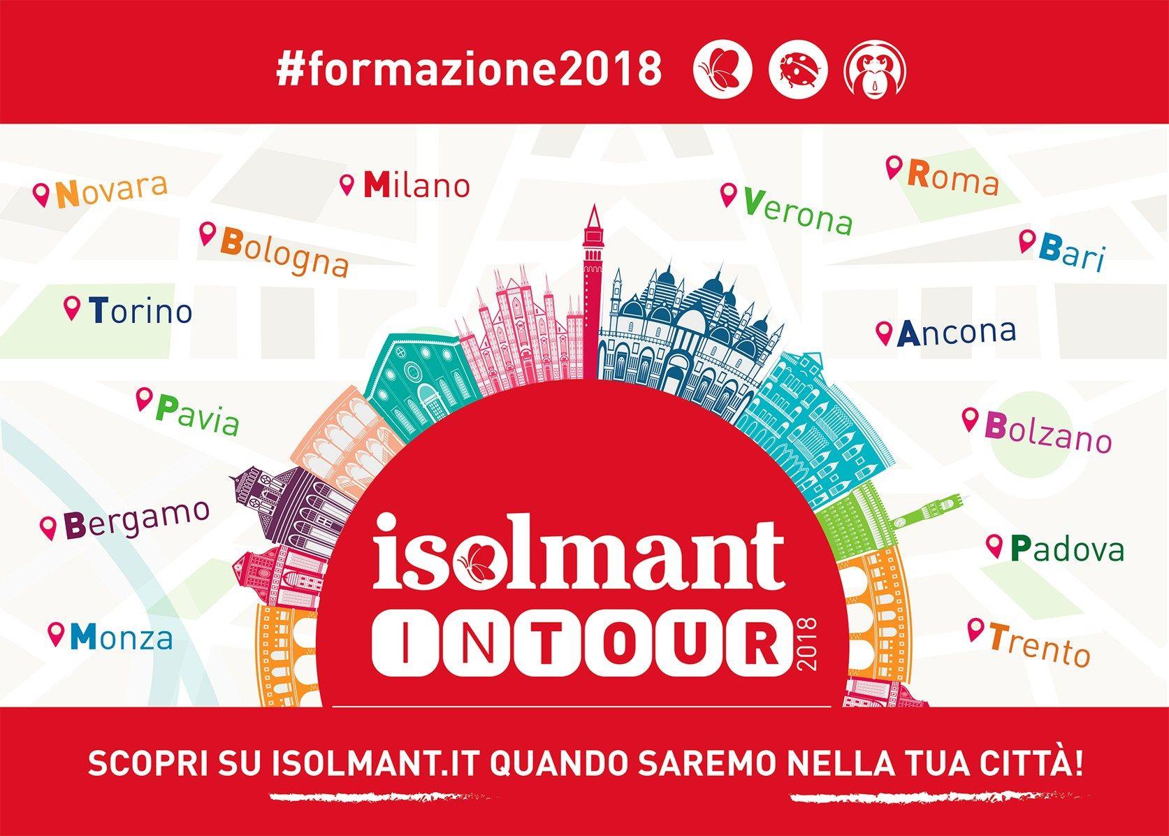 Al via Isolmant in Tour 2018
