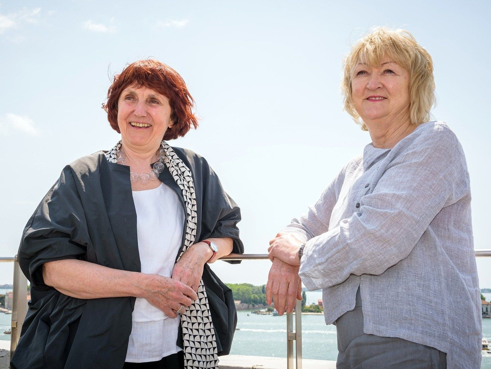 Yvonne Farrell, Shelley McNamara_Photo by Andrea Avezzu'_Courtesy of La Biennale di Venezia