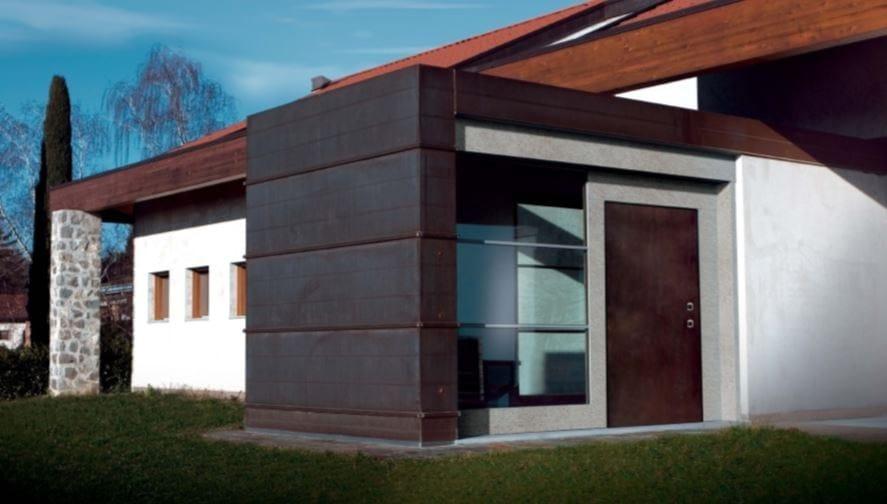 Urban style: si inizia dall'ingresso con le blindate Bauxt