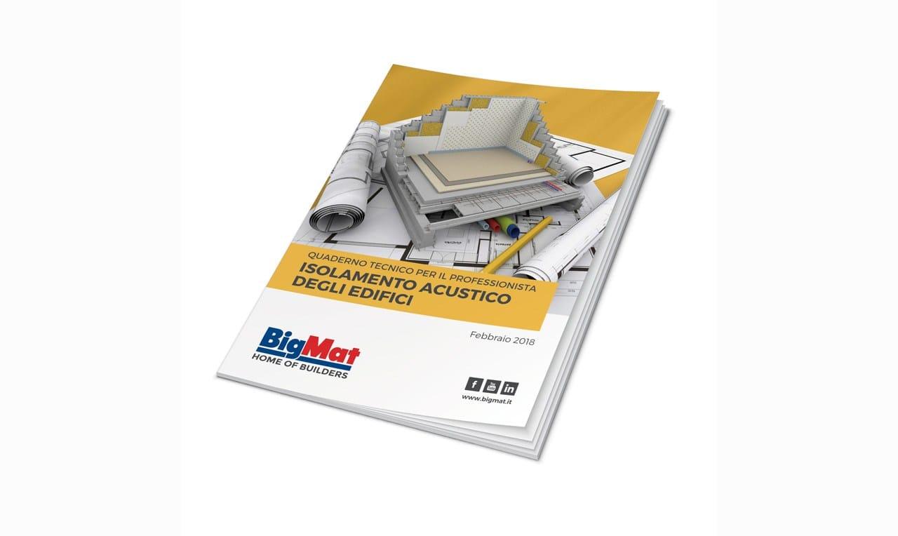 BigMat, nuovo quaderno tecnico sull'isolamento acustico degli edifici