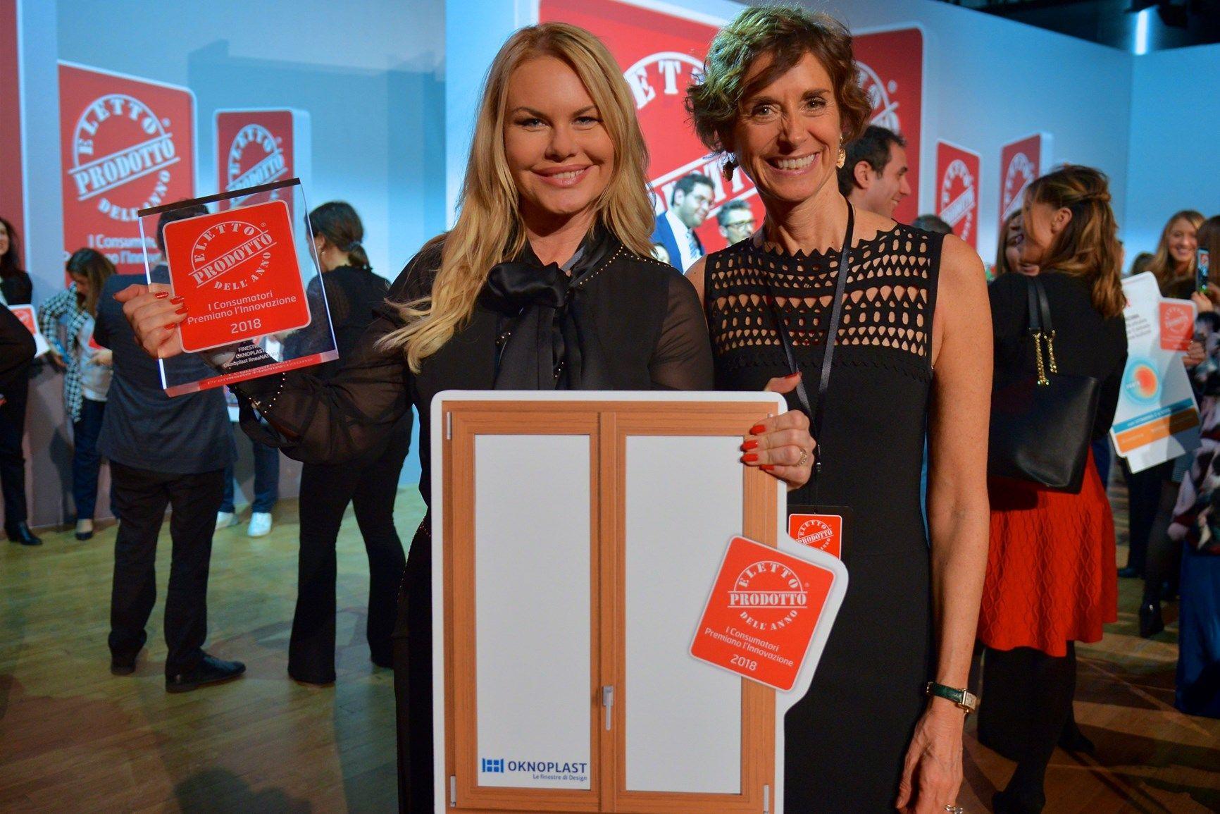 A lineaNATURA di Oknoplast il Premio Eletto Prodotto dell'Anno 2018