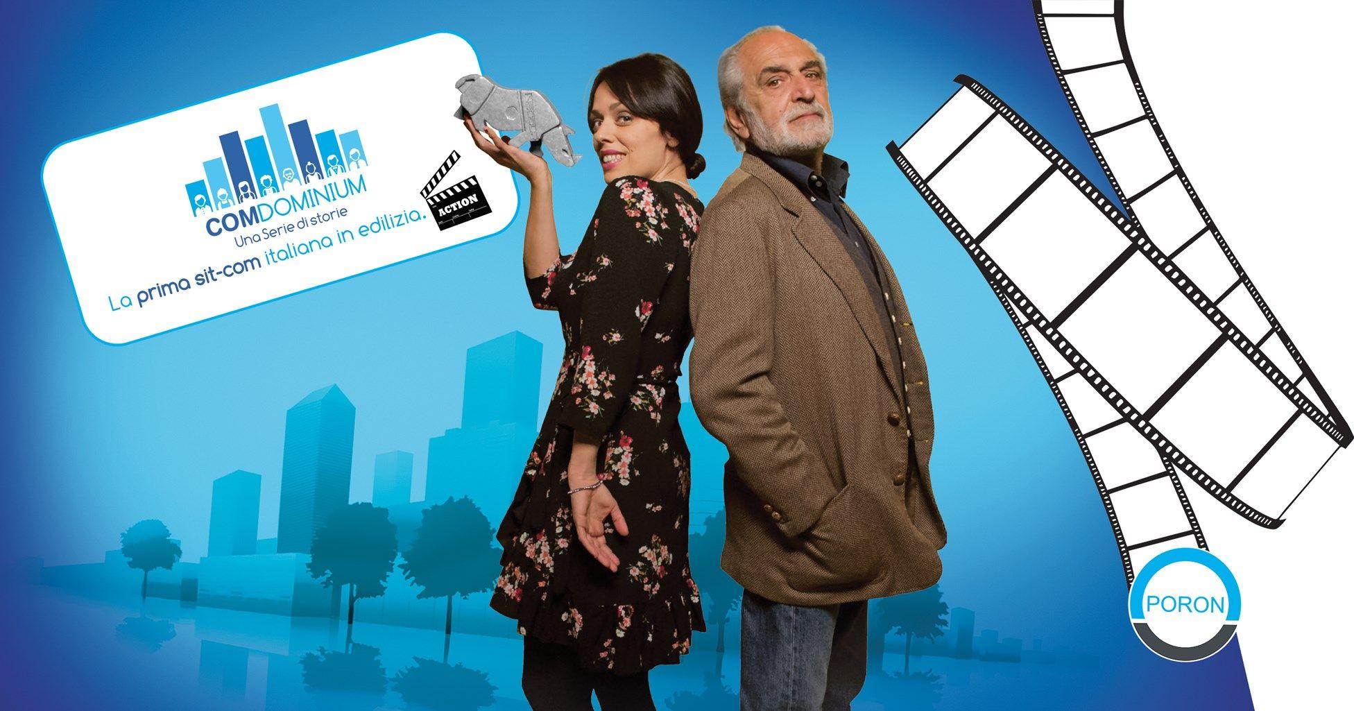 Gruppo Poron è protagonista della sit-com ComDominium con l'episodio dedicato al cappotto