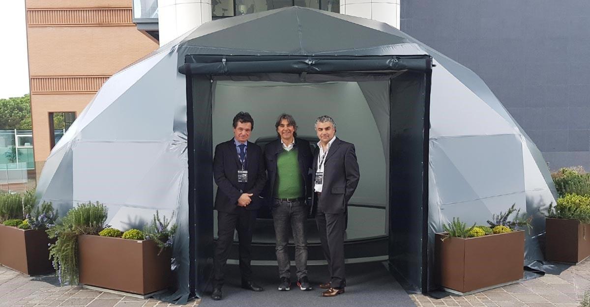 Kopron presenta il sistema Gabbia di Luce K-Igloo Outdoor