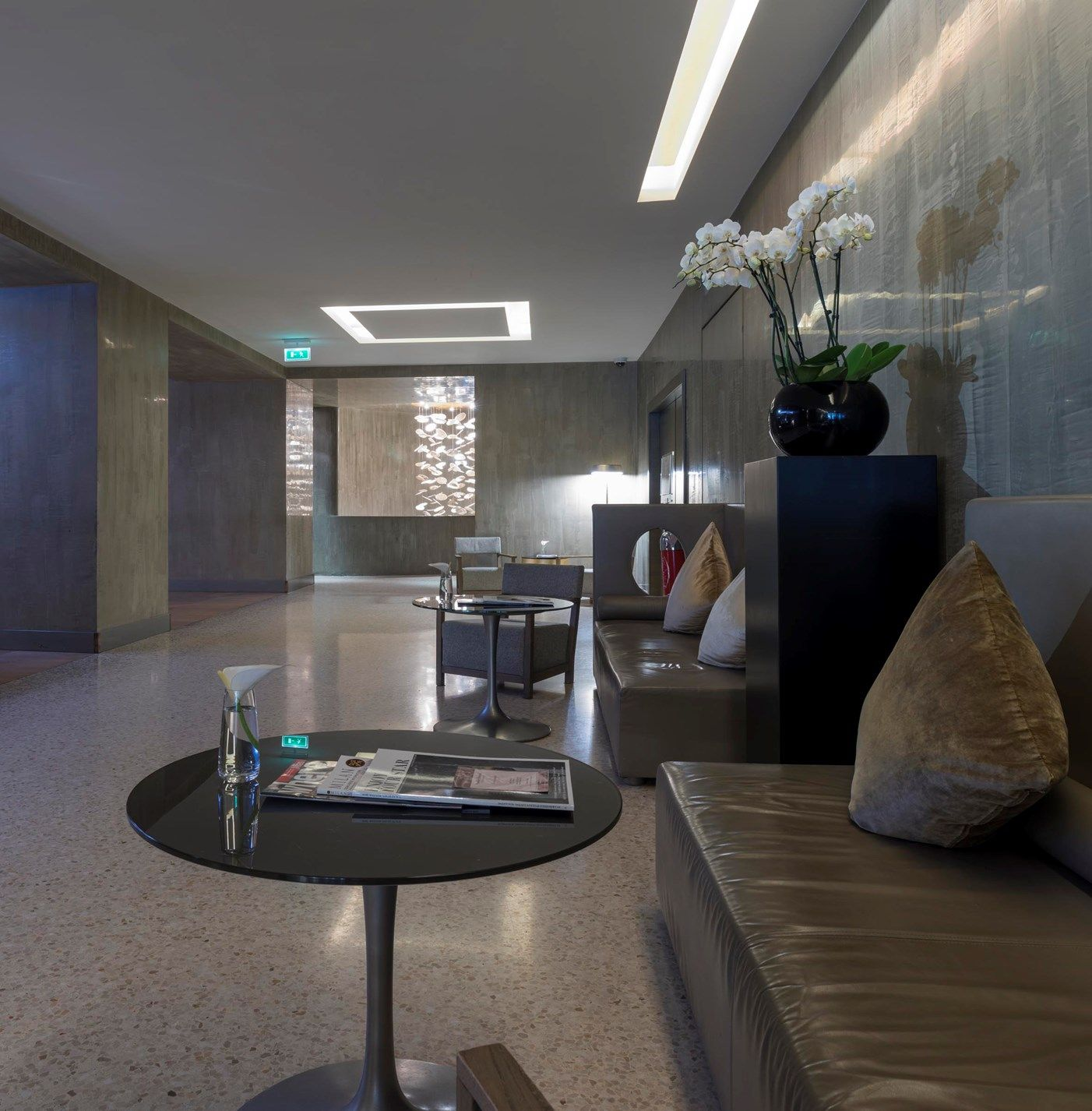 Il design Made in Vimar accoglie gli ospiti dell'hotel Rosa Grand