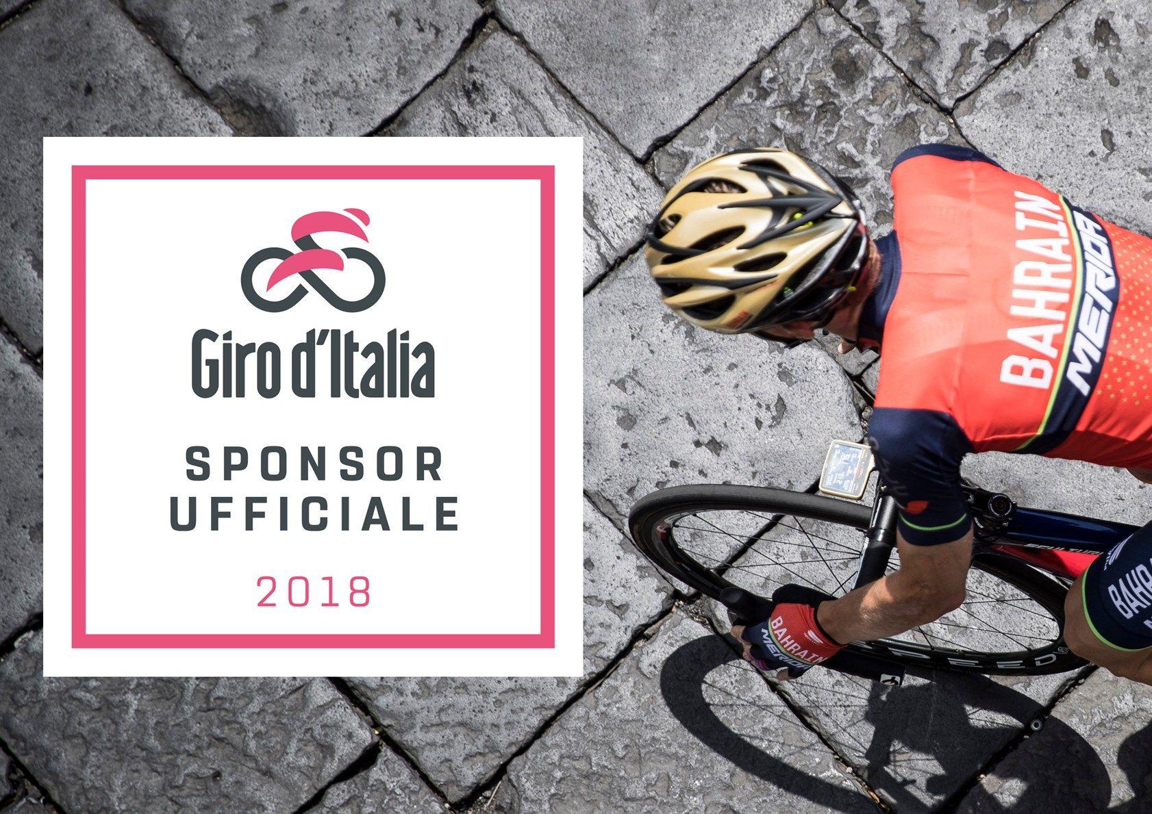 Scrigno Sponsor Ufficiale del Giro d'Italia 2018