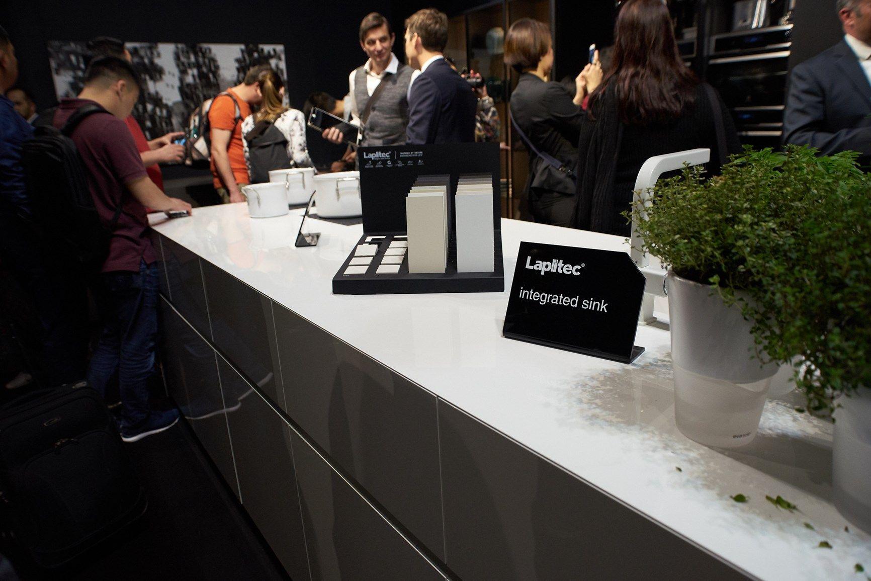 Lapitec® scelto dai più rinomati brand del Salone del Mobile e del Fuori Salone