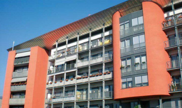 Foto: Edificio in Classe A a Bolzano, ELab Legambiente