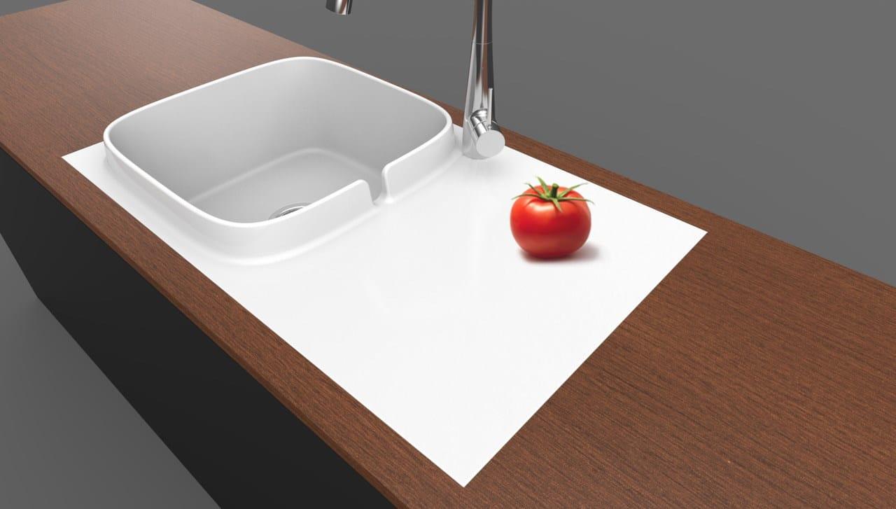 Lavello In Ceramica Da Cucina up, il primo lavello da cucina scarabeo ceramiche