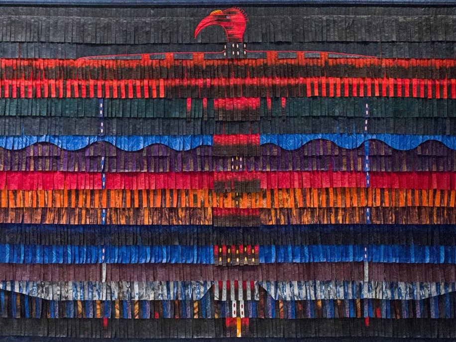 Abdoulaye Konate, Calao, 2016 Courtesy Primo Marella Gallery