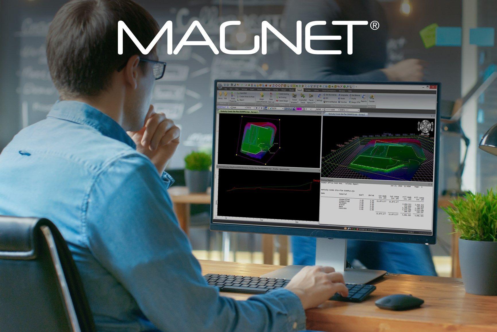 Topcon rilascia la nuova edizione della suite software MAGNET