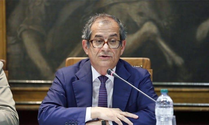 Infrastrutture, il ministro dell'Economia Tria: 'rilanceremo gli investimenti pubblici'