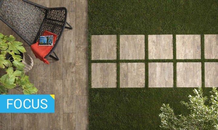 Pavimenti da giardino e decking ispirazioni