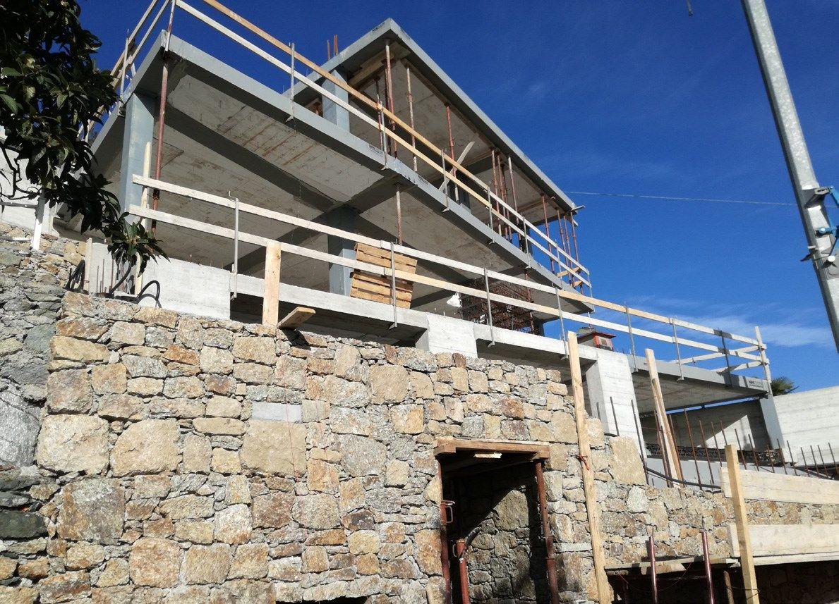 Sistema NPS® AIR di Tecnostrutture per un'esclusiva villa residenziale a picco sul golfo ligure