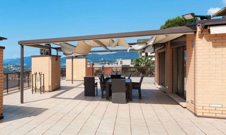 Edilizia libera quali tende pergole e gazebo si installano senza autorizzazione - Gazebo terrazzo vento ...