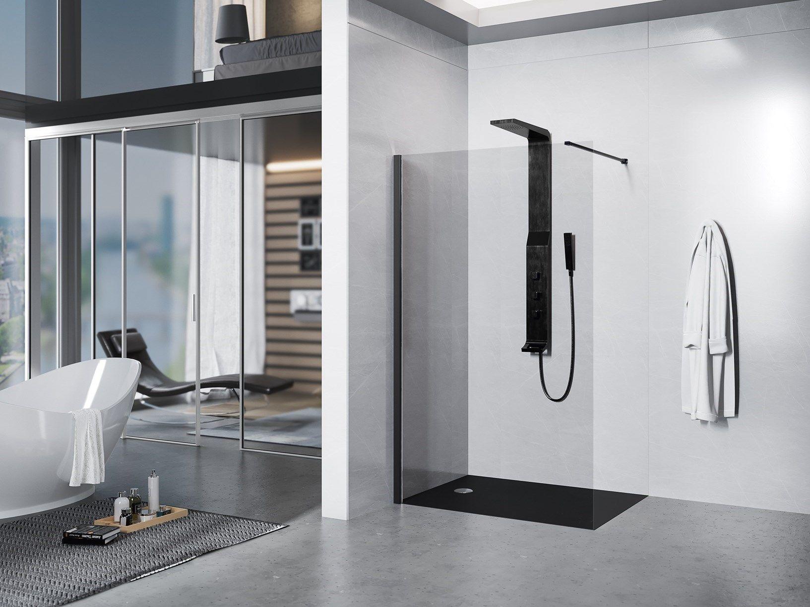 Libero la nuova cabina doccia walk in di duka