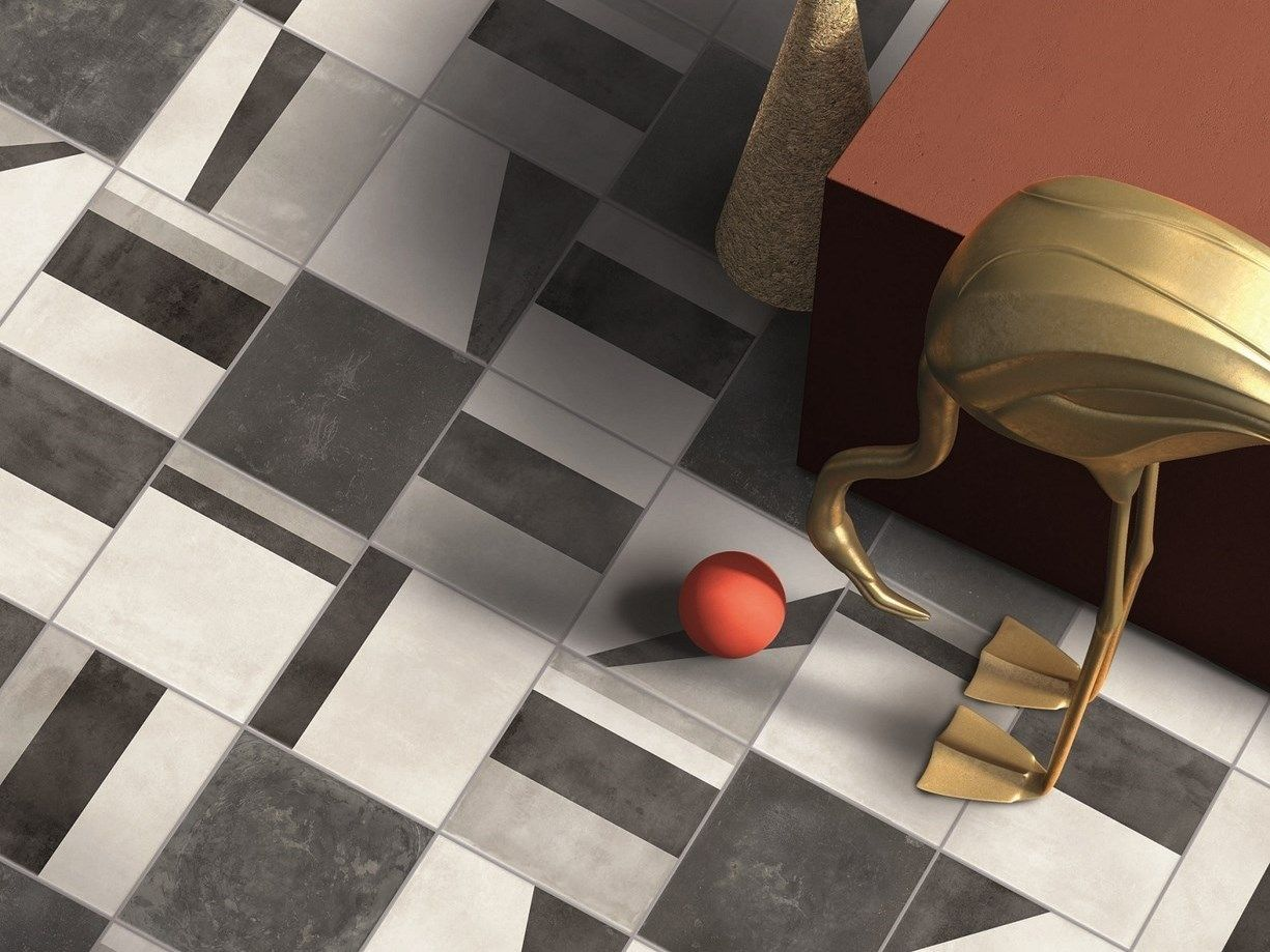 Piastrelle in gres porcellanato cementine di keope tile expert