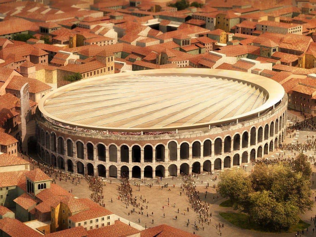 Ecco Perch 201 La Copertura Dell Arena Di Verona Non Si Far 192