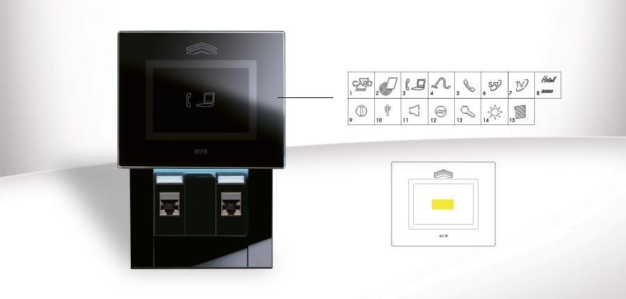 Ave Touch: personalizzazione placche 'a scivolamento'